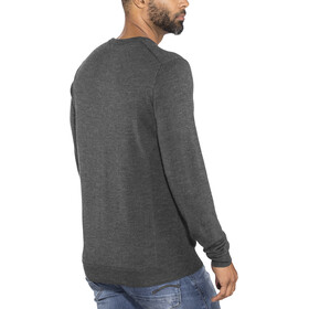 Icebreaker Shearer Crew Sweater Herren charcoal heather